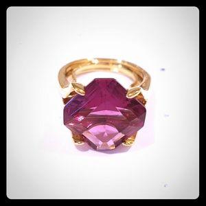 Pink Kate Spade Cocktail Ring